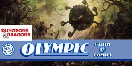 Olympic Cards and Comics D&D Adventure League tickets