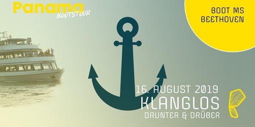 Panama Boot mit Klanglos | 16.08.2019