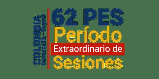 62 Período Extraordinario de Sesiones