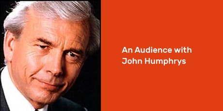 An Audience with John Humphrys tickets