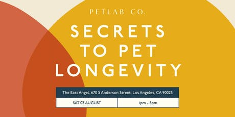 Secrets to Pet Longevity tickets