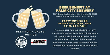 Beer for a Cause - Party with ABWA Imperial River at Palm City Brewery! tickets