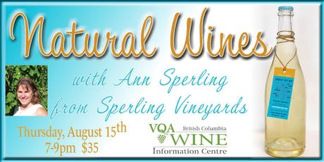 Natural Wine with Ann Sperling tickets