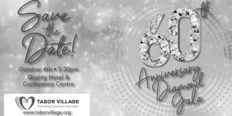 Tabor Village 60th Anniversary Diamond Gala tickets