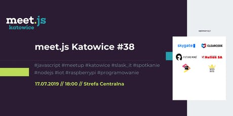 meet.js Katowice #38 tickets