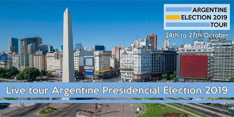 Argentine Election 2019 Tour entradas