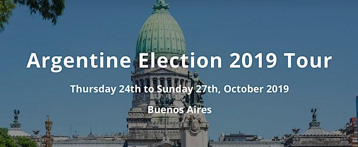 Argentine Election 2019 Tour image