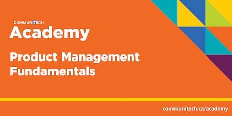 Communitech Academy: Product Management Fundamentals  tickets