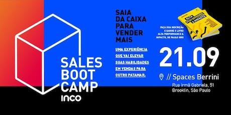 Sales Bootcamp - Vendas, Vendas + Vendas ingressos