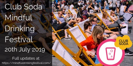 Mindful Drinking Festival Summer 2019 tickets