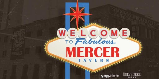 Vegas:  Theme Party at Mercer Tavern