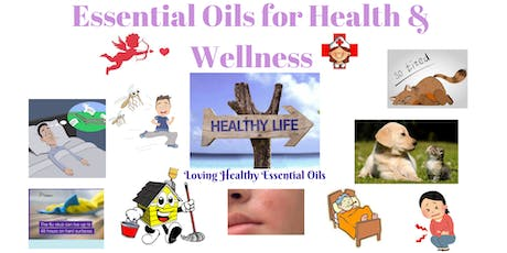 Essential Oils for Health and Wellness tickets