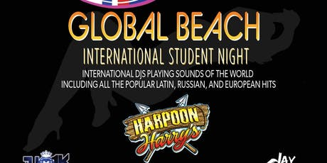 GLOBAL BEACH:  INTERNATIONAL STUDENT PARTY tickets