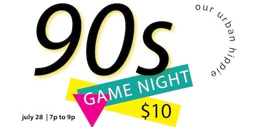 90s Game Night