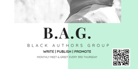 Black Authors Group - Monthly Meet & Greet tickets