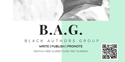 Black Authors Group - Monthly Meet & Greet
