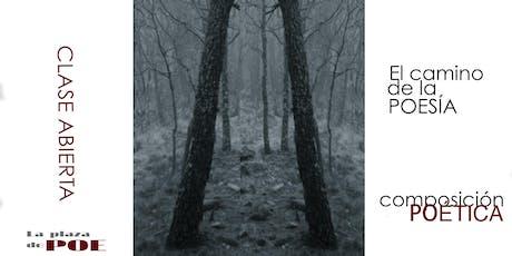 Clase abierta. El camino de la poesía. entradas