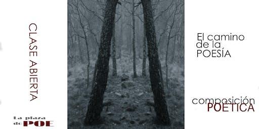 Clase abierta. El camino de la poesía.