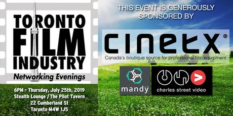 JULY Toronto Film and TV Networking Evening tickets