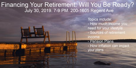 Financing Your Retirement: will you be ready? tickets