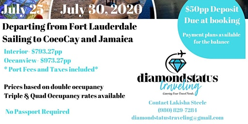 Diamond Status Traveling 2nd Annual Group Cruise