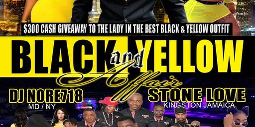 Black & Yellow Affair (stone Love)