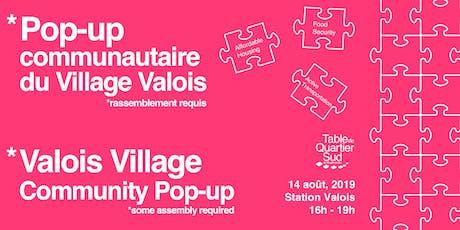 Pop-up communautaire du village Valois / Valois Village Community Pop-Up tickets