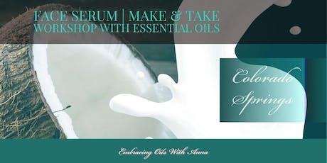 Essential Oil Basics - Face Serum Workshop tickets