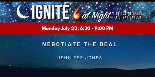 Ignite at Night - Negotiate the Deal with Jenn Jones