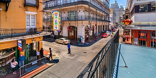 FAT TUESDAY MARDI GRAS 2020 DAYTIME BALCONY EXPERIENCE - 201 BOURBON ST