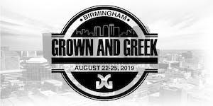 Grown and Greek Weekend 2019
