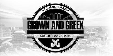 Grown and Greek Weekend 2019  tickets