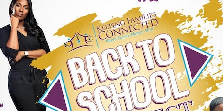 Keeping Families Connected Back to School Connect Fest Vendor Registration tickets