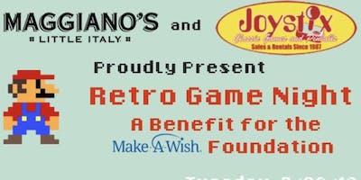 Retro Game Night Fundraiser