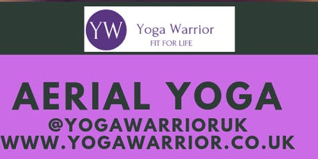 Yoga Warrior Flips & Tricks Aerial Yoga Workshop tickets