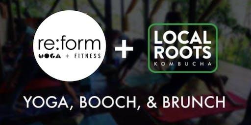 Yoga, Booch, & Brunch w/ re:form YOGA