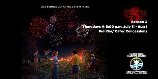 Stranger Things Season 3 Free Community Screening