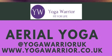 Yoga Warrior Bend It Like Beckham Aerial Yoga Workshop tickets