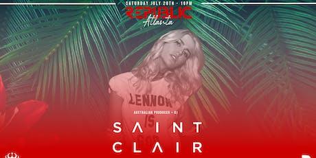 Republic Saturdays | DJ SAINT CLAIR | 7.20.19 tickets