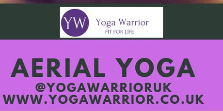 Yoga Warrior Rest & Restore Aerial Yoga Workshop tickets