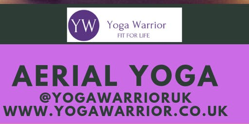 Yoga Warrior Rest & Restore Aerial Yoga Workshop