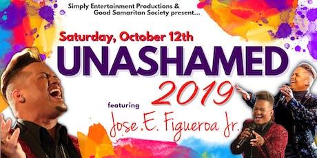 Unashamed 2019 - Jose LIVE in Concert tickets
