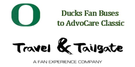 Oregon Ducks Fan Bus to AT&T Stadium & Tailgates - 2019 Advocare Classic tickets