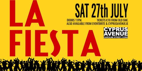 LA FIESTA - Spanish party tickets