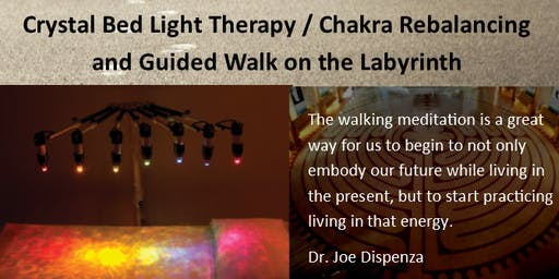 Guided Walking Meditation and Chakra Aligning Crystal Bed open Aug 30