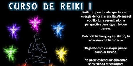 Curso: Reiki I - Confirmar Asistencia entradas