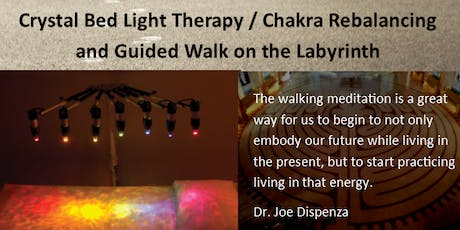Guided Walking Meditation and Chakra Aligning Crystal Bed open Sept 27 tickets