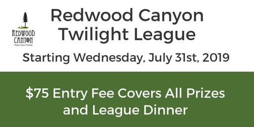 Twilight Golf League at Redwood Canyon Golf Course