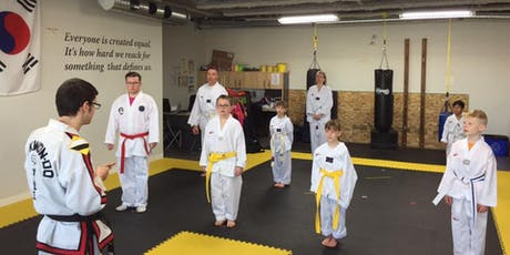 Free Children's Trial Martial Arts Class! tickets