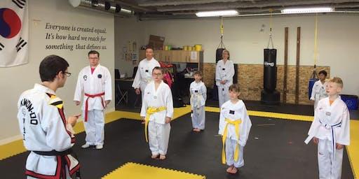 Free Children's Trial Martial Arts Class!
